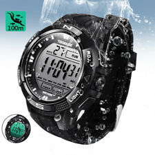 TEKMAGIC 10 ATM Waterproof Scuba Diving Water Watch with Stopwatch and Alarm