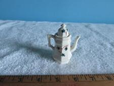"Minature 3"" Tea Pot Bone China Ivy Design"