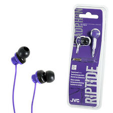 Jvc Riptide In-ear Deportes del teléfono Auriculares Auriculares Para Iphone Ipod-Violeta