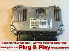 TOYOTA AYGO CITROEN C1 ECU 0261S07612 89661-0H250 Plug & Play * programmazione libera