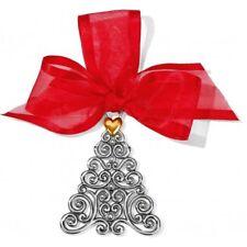 Brighton Christmas Holiday Ornament Christmas tree Swarovski Crystals NEW
