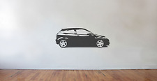 Ford focus MK1 RS wall art decal / sticker. (HUGE) ( side) rally race style
