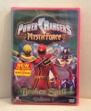 Power Rangers Mystic Force: Broken Spell - Vol. 1 (DVD, 2006) Jetix