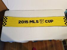 2015 MLS CUP Columbus The Crew Scarf