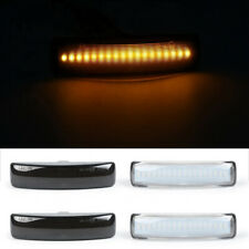 2x Dynamic Flowing LED Side Marker Repeater Light For Range Rover Discovery 3