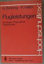 Flugleistungen Grundlagen - Erstauflage 1978 druckfrisch (32929)