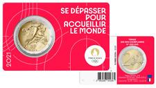 PREVENTE Coincard BU 2 Euros Commémorative France 2021 Olympic Rouge