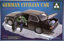 Takom 1/35 #2005 German Civilian Car w/1 Figure and 4 Gas Rockets