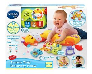 Vtech Baby Tummy Time Discovery Pillow