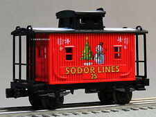 LIONEL THOMAS & FRIENDS CHRISTMAS SODOR LINES CABOOSE O GAUGE 6-83512 C NEW