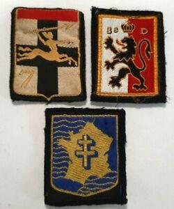 Lot 3 patchs