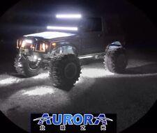 (SET OF 4)AURORA ROCK LIGHTS (WHITE) 9W 495 LUMENS EACH CREE LEDS