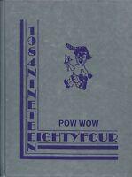 JACK HAYES ELEMENTARY SCHOOL, MONROE, LOUISIANA YEARBOOK - POW WOW - 1984