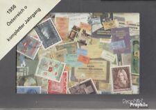 Österreich gestempelt 1956 kompletter Jahrgang in sauberer Erhaltung