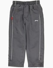 BNWT BOYS SLAZENGER GREY JOGGERS/TRACKSUIT/TRACKIE TROUSERS AGE 2-3 YEARS