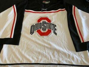 Ohio State Buckeyes Nike Hockey Jersey XXL