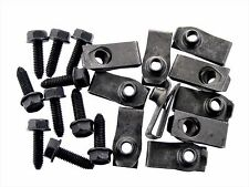 Body Bolts & U-nut Clips For Nissan- M6-1.0mm x 20mm Long 10mm Hex- Qty.20- #135
