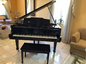 Grand Piano Weber beautiful Mahogany high Gloss finish 5 feet long