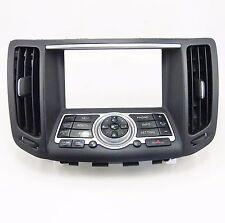 07 08 09 Infiniti G37 G37x G35 Center Dash Vents Navigation Bezel Media Control