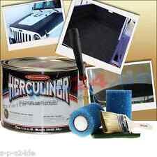 Herculiner mini Pickup Beschichtung für Ladefläche Boot schwarz 0,9 Liter set