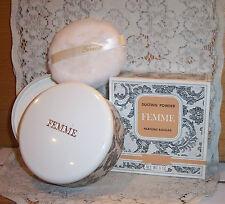 NIB Sealed Vintage Parfums Rochas Femme Dusting Powder 01 1116 Parfum 6 Oz