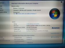 """New listing Lenovo ThinkPad Edge E540 Intel Core i3-4000M 2.4Ghz 8Gb Ram, 15.6"""" See Details"""