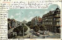 Strassburg Strasbourg Elsass Alsace CPA 1901 Litho-AK Broglieplatz nach Nauen