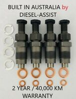 DIESEL FUEL INJECTOR SET SUITS MAZDA BRAVO WL / WLT FORD COURIER 2.5 LITRE.NEW.