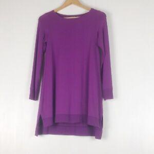 Eileen Fisher Purple Tunic Sz PS