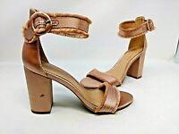NEW! Lauren Conrad Women's Admirer High Heel Sandals Blush #160089 2C tp