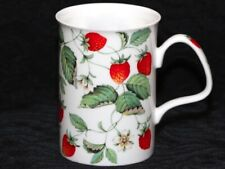 ROY KIRKHAM ALPINE STRAWBERRY Fine Bone China LANCASTER Mug #1b