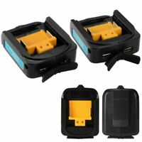 Dual USB Charger Adapter for MAKITA ADP05 14-18V Battery Portable Power Source