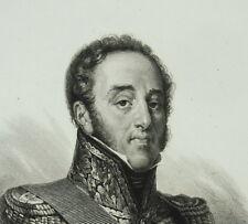 Louis-Gabriel Suchet duc d'Albufera général Révolution / Empire Bonaparte c1850