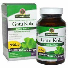 Gotu Kola Adaptogen Supplement 950mg 90 Veg Capsules Anxiety Energy Adrenal