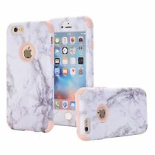 Stylish Marble Pattern Shockproof Rose Gold Hard Cover Case For iPhone 6 6S