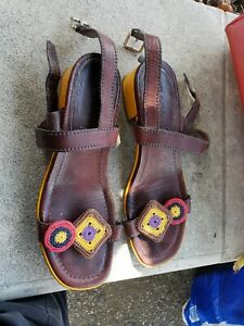 Prada leather  Sandals Size 38 1/2
