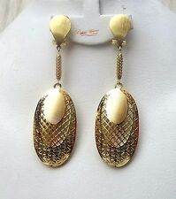 Long Gold Color Party Earring Jewellery Gift