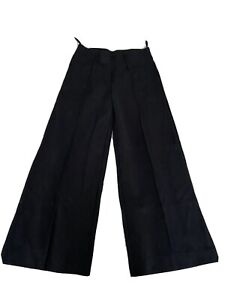 M&S Wide Leg Trousers 10