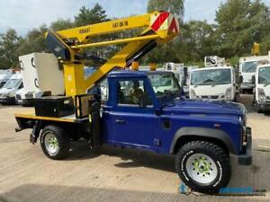 Land Rover 130 Defender 4x4 4WD Versalift 39LAT Access Platform Cherry Picker
