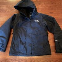 The North Face HyVent Jacket Fleece Lined Hooded Ski Snow Jacket Women's Size S