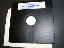 """Very Rare Miniature Race Car - 5.25"""" Software Labs Floppy Disk PC DOS"""