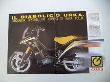 advertising Pubblicità 1989 GARELLI URKA 50