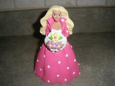 """Vintage Barbie Plastic Piggie Piggy Bank 7"""""""