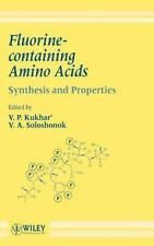 Fluorine-containing Amino Acids : Synthesis and Properties (1995, Hardcover)