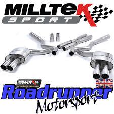 MILLTEK Mustang ssxfd158 5.0 v8 GT Sistema Di Scarico Cat Indietro Non Res QUAD lucido