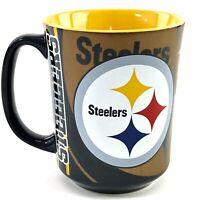 Pittsburgh Steelers Coffee Mug Cup Memory Company Black Yellow Logo NFL AFC