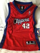Elton Brand Los Angeles Clippers Red Home Reebok NBA Authentic Jersey, Kids M