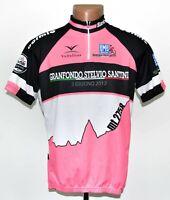 GRANFONDO STELVIO 2012 CYCLING SHIRT JERSEY SANTINI SIZE XL ADULT