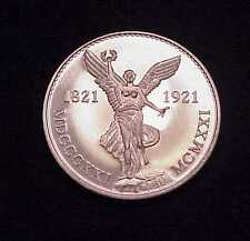 "RARE 1984 ""VIVA MEXICO~WINGED LIBERTY"" 1 OZ 999 FINE SILVER PROOFLIKE ROUND"