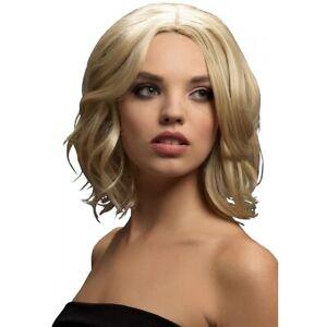 Fever Olivia Wig, Dark Blonde Costume Accessory Adult Mardi Gras